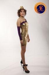 Прокат золотого платья Голд для Хостес в Киеве | SAL-rent