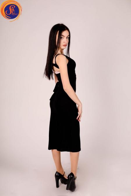 Платье черное - футляр