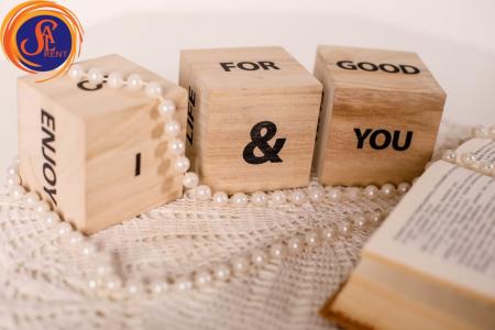 Кубики деревянные со словами (игровые)