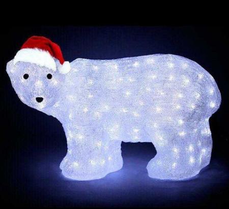 Светодиодный медведь LED