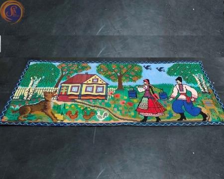 Ковер-картина в украинском стиле
