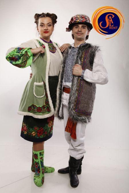 Гуцулы (мужской, женский костюмы)