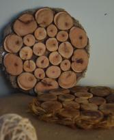Подставка деревянная