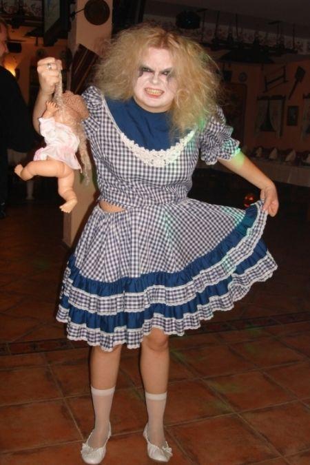 Прокат костюма Злой Девочки на Halloween в Киеве | SAL-rent