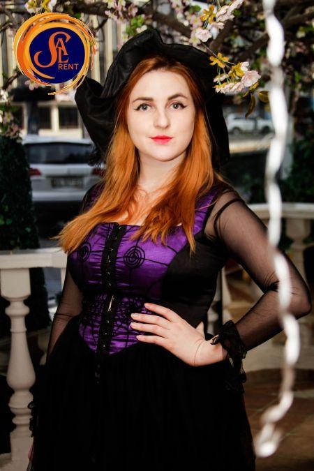 Костюм Колдуньи на Хэллоуин, прокат в Киеве | SAL-rent