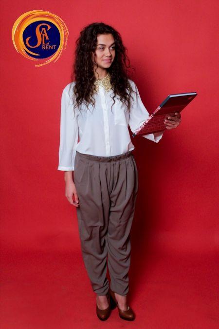 Хостес: блуза с длинным рукавом