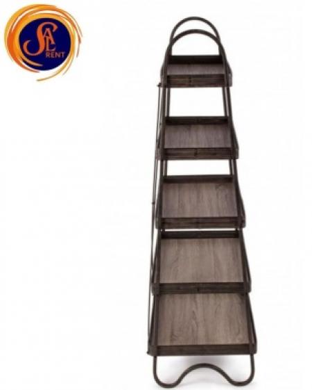 Винтажная этажерка 5 полок, стиль кантри, аренда | SAL-rent