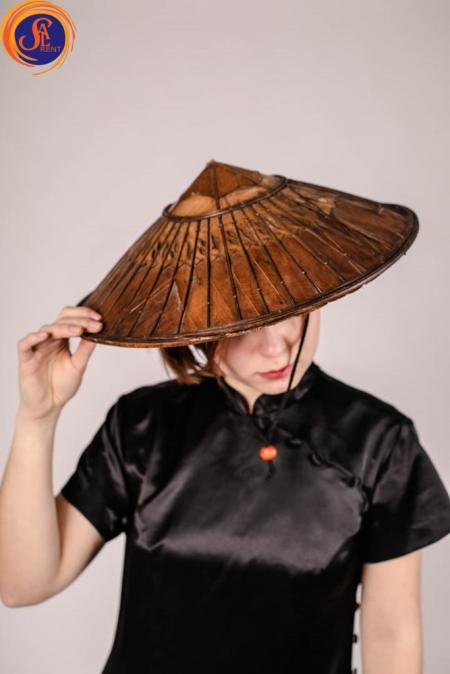 Азиатский головной убор