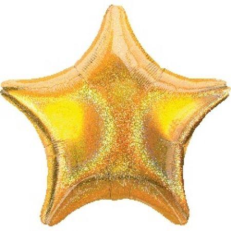 Шары фольгированные (звезда)