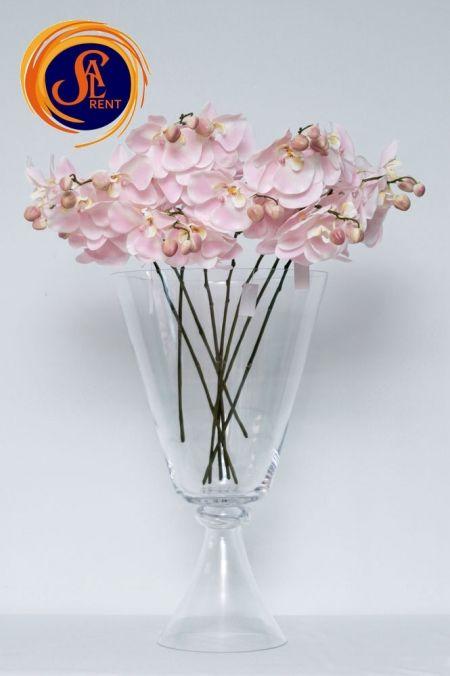 Орхидея розовая искусственная - аренда и прокат в Киеве | SAL-rent