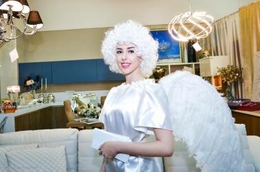 Парики белые (ангельские)