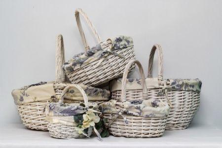 Плетеная корзина для подарков - аренда и прокат в Киеве | SAL-rent