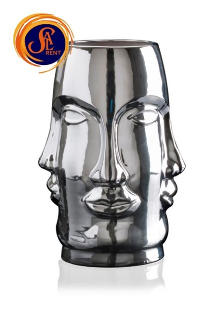Ваза MING FACE SILVER