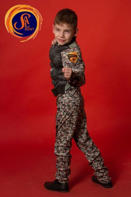 Маленький спецназовец