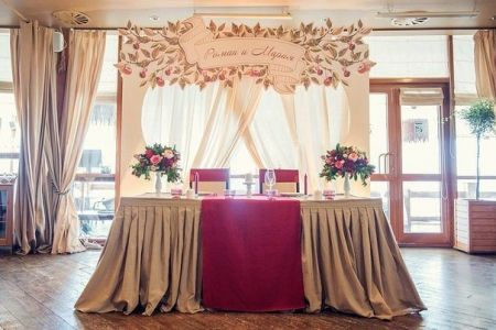 Оформление свадеб в Киеве, украшение зала на свадьбу | SAL-rent