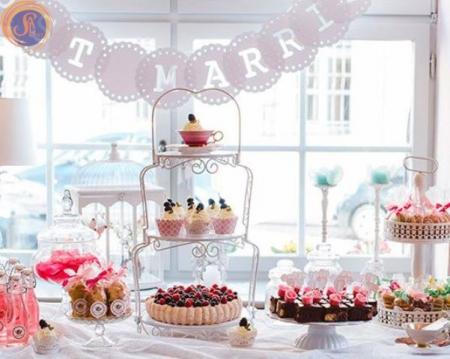 Аренда посуды на свадьбу для Candy bar в Киеве | SAL-rent