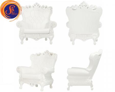 Кресло Королева | SAL-rent, аренда кресла для фотосессии