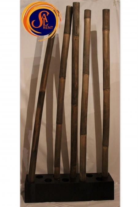 Бамбуковые палки: композиция