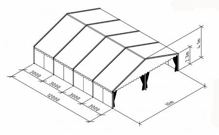 Тентовые конструкции Мультифлекс/Multiflex