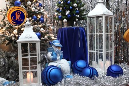 Аренда больших елочных игрушек для новогоднего декорирования | SAL-rent