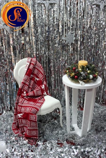 Аренда (прокат) Новогодней фотозоны №3 в Киеве | SAL-rent