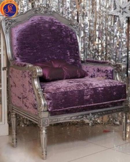 Кресло «Барокко Violet»