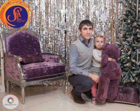 Аренда кресла Барокко в Киеве, прокат с доставкой
