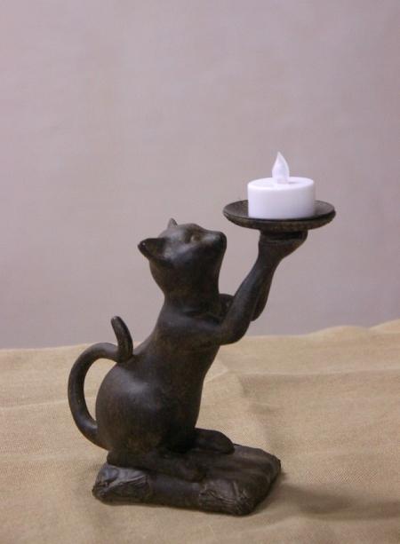 Подсвечники «Коты»