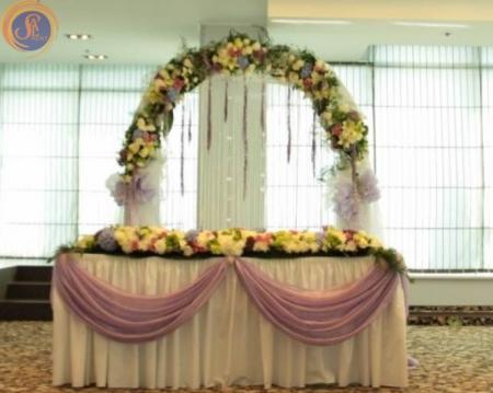 Аренда арки для выездной церемонии Киев | SAL-rent