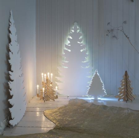Новогодняя елка из фанеры в аренду 1,5 м. Киев | SAL-rent